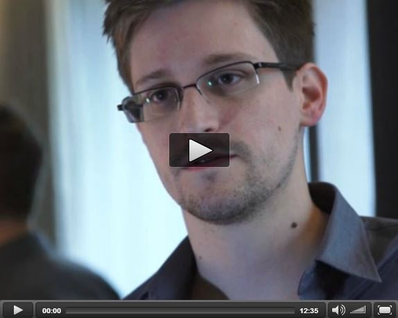 Edward Snowden Guardian Interview