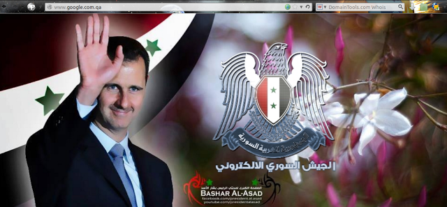 Syrian Electronic Army defaced page
