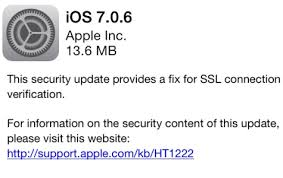 apple ios 7_0_6 security update