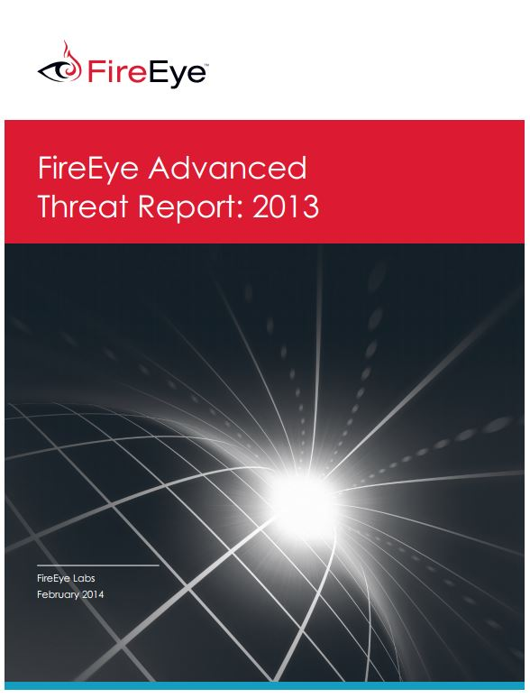 FireEye 2013 Advanced Threat Report Final logo