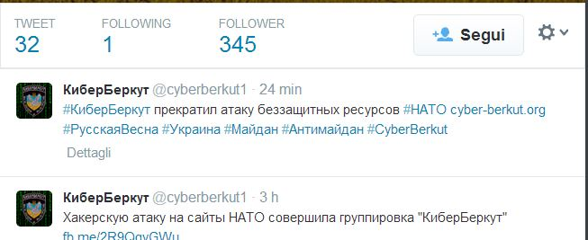 Tweet NAto Attack crimea