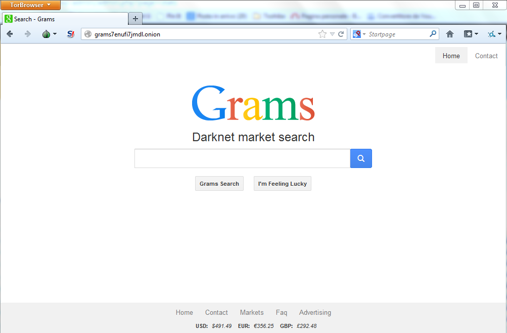 Grams Black Market search engine