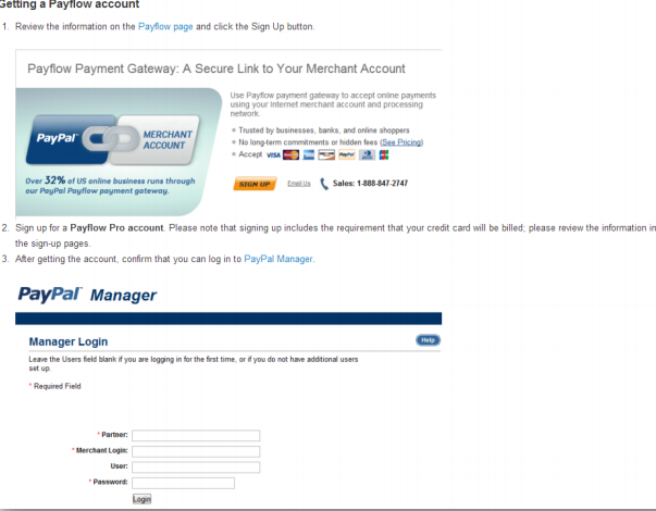 paypal online account manager