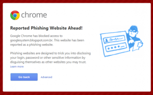 google-phishing-report