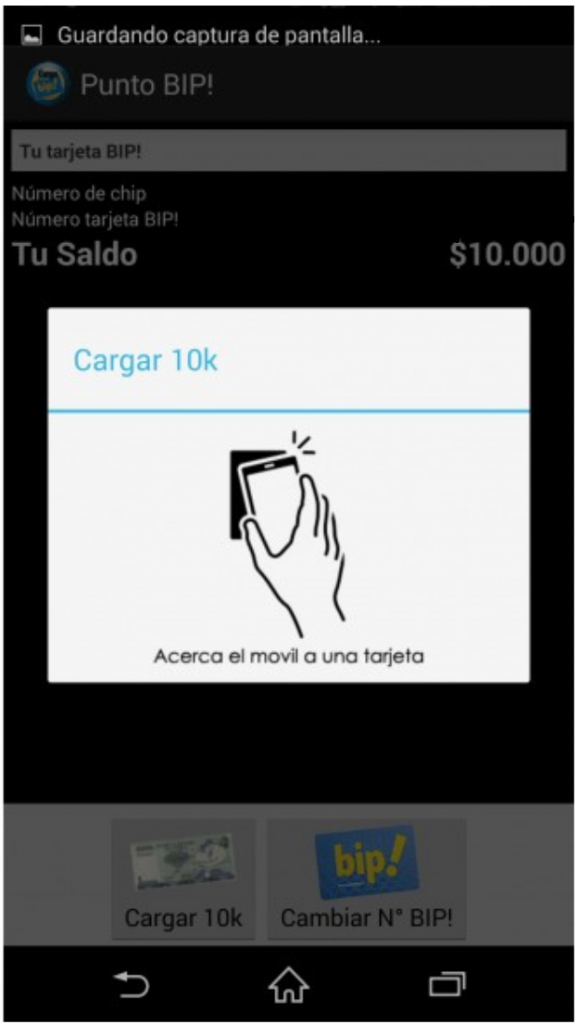 NFC Payment Chile hackerd