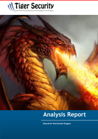 Operation Distributed Dragons infections report