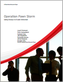 SEDNIT Operation Pawn Storm 2