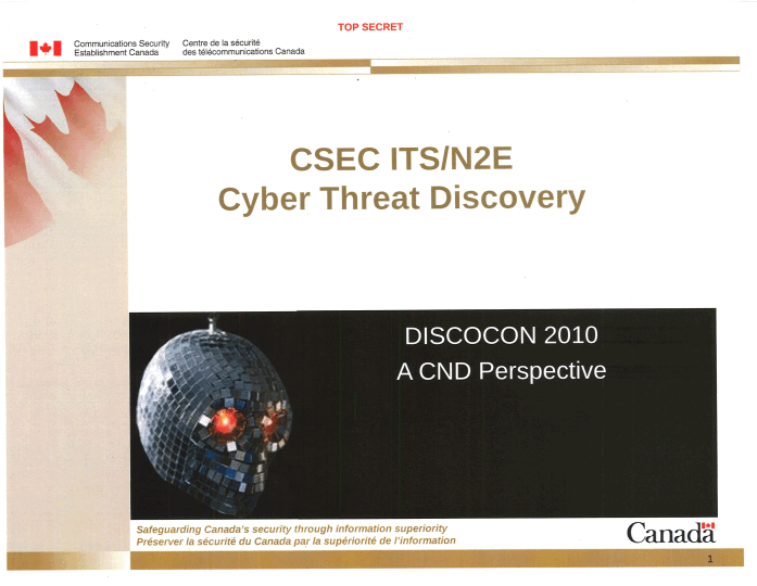 Doubts about how CSE monitors Canadian emails to the Government