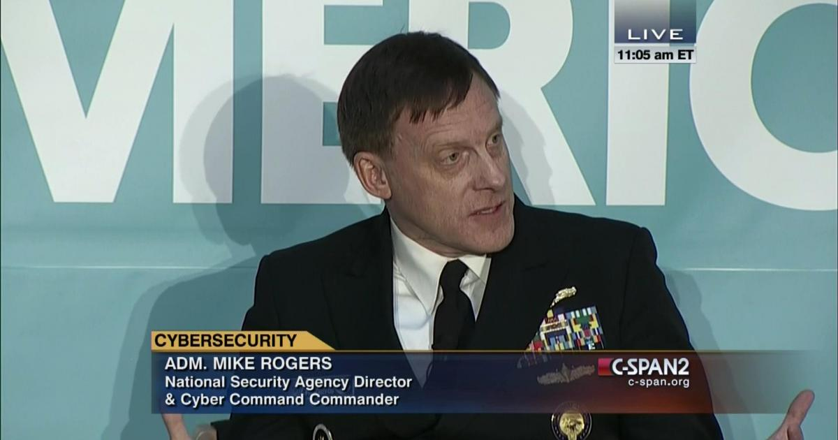 US National Security Agency Director Admiral Mike Rogers to Retire