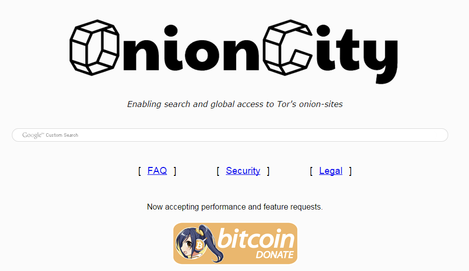 Onion City the new search engine for the Deep Web