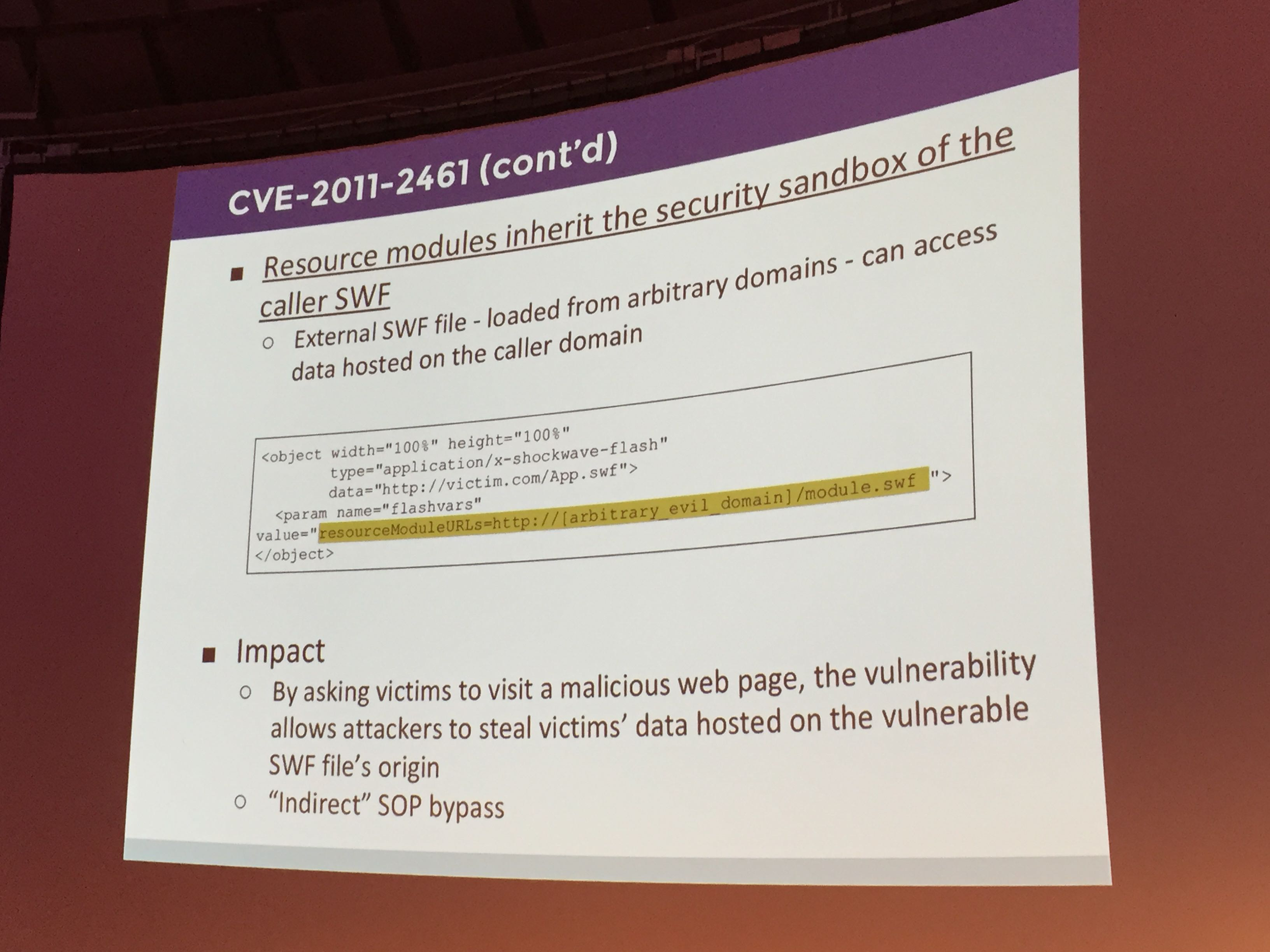 Adobe CVE-2011-2461 flaw is exploitable by 4 yearsSecurity Affairs