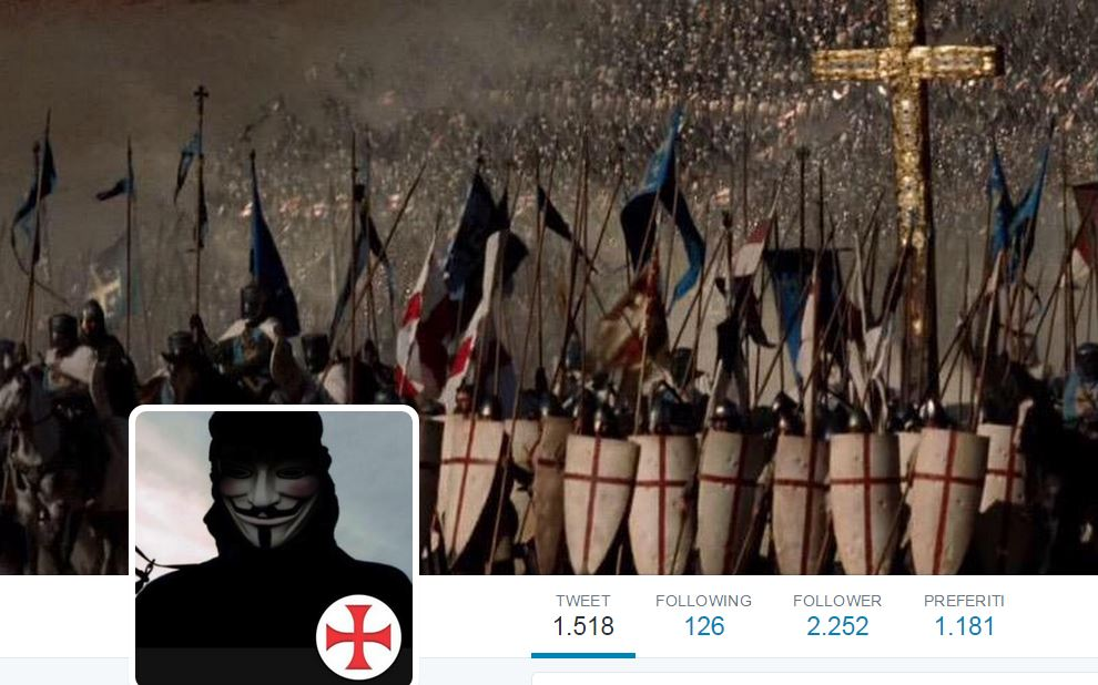 Anonymous vigilantes are fighting against the ISIS propaganda