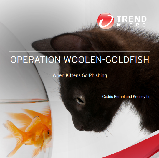 Operation Woolen Goldfish, a hacking campaign in the wild