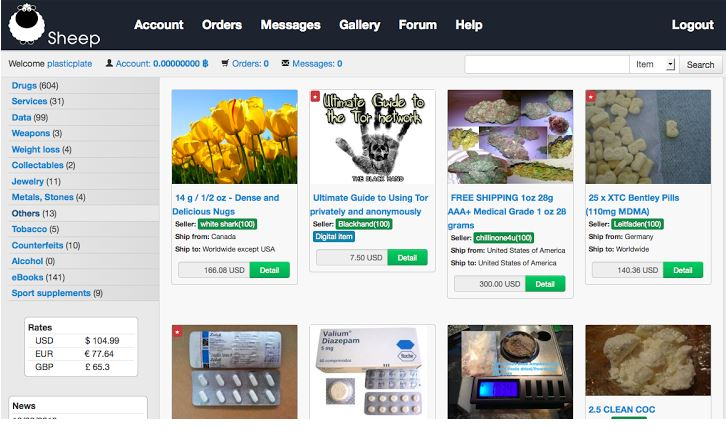 Darknet Sheep Marketplace website owner arrested