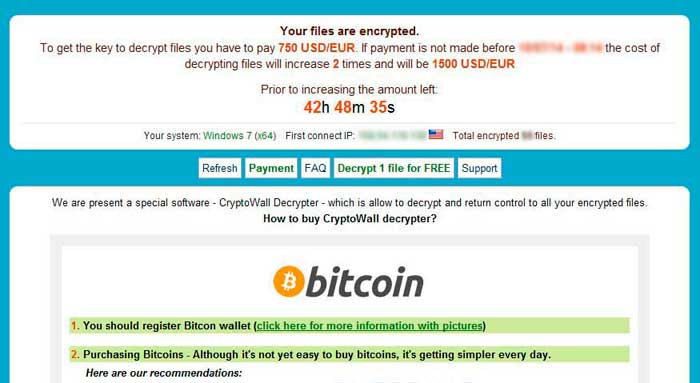 cryptowall ransomware Ransomware Removal