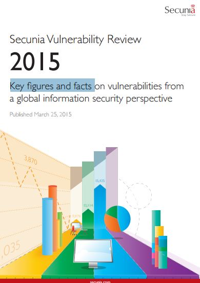 Reading the Secunia Vulnerability Review 2015