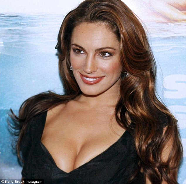 Another set of Kelly Brook's Nude Pictures leaked online