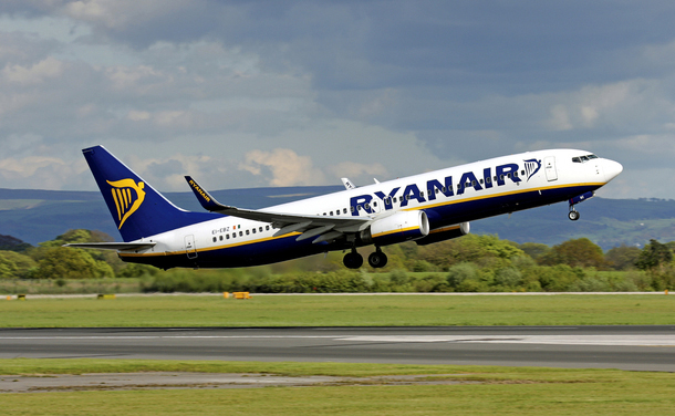 Unknown hackers have stolen €4.6m from Ryanair bank accounts