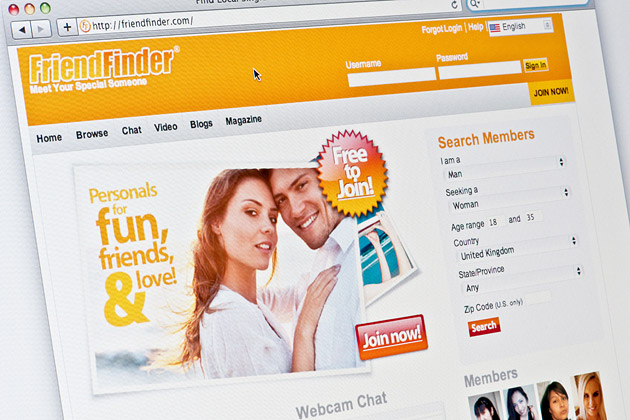 Adult dating site designer