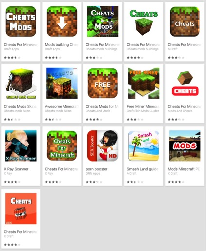 Fake Android Minecraft apps scammed million users
