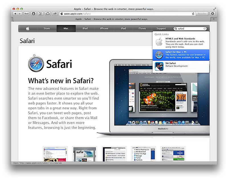 A severe URL Spoofing flaw affects the Apple Safari Browser