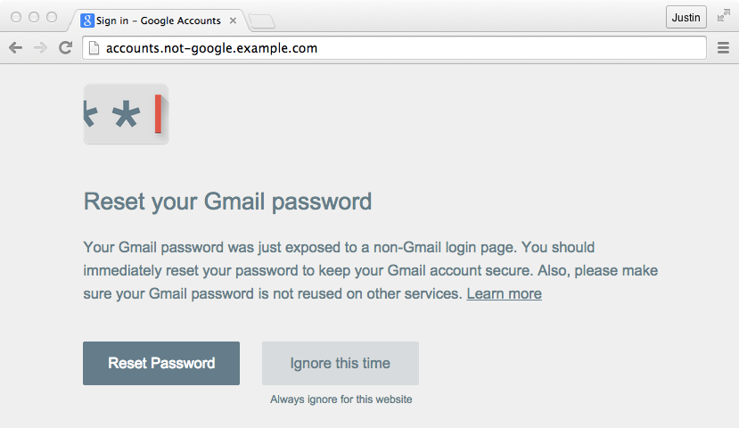 New Google Password Alert extension already hacked