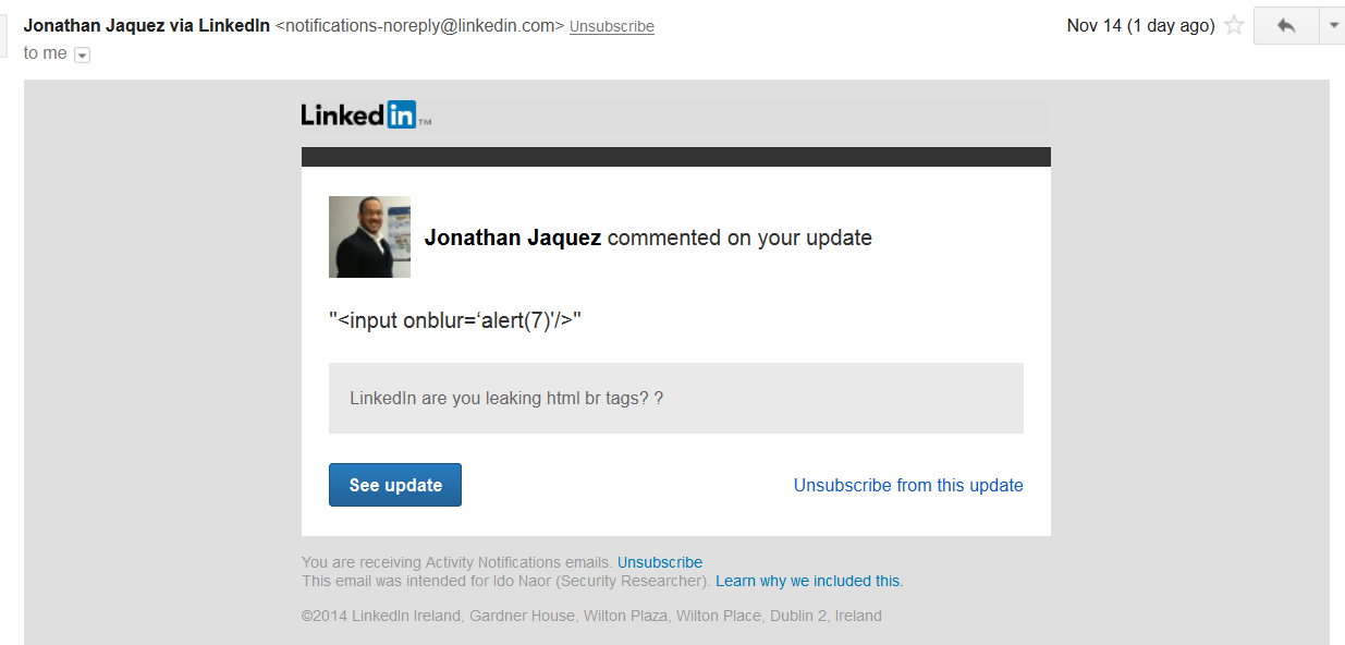 LinkedIn and the story how crooks can use it for spear phishing