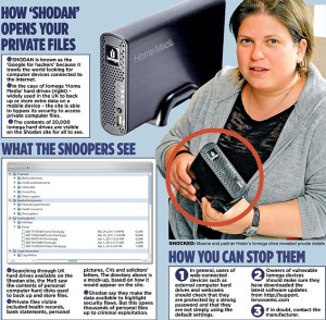 Thousands Britons's hard drives easy to hack with Shodan ...
