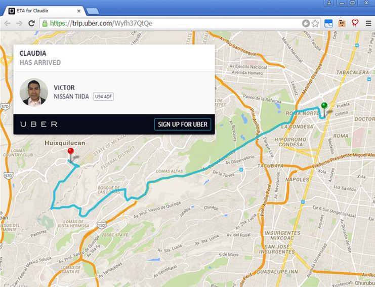 Some Uber ride data is publicly accessible through Google