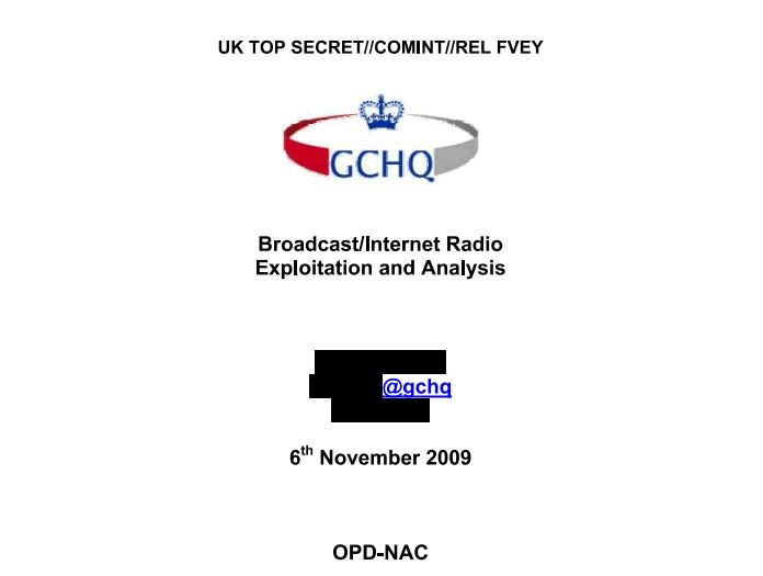Karma Police, how GCHQ tried to track every visible user on Internet