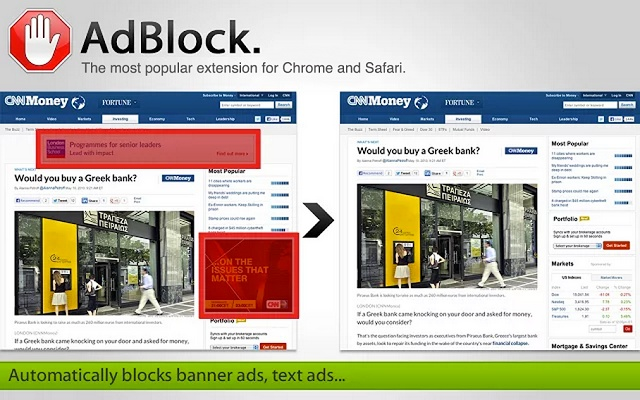 Who is the unknown buyer that bought Adblock Extension