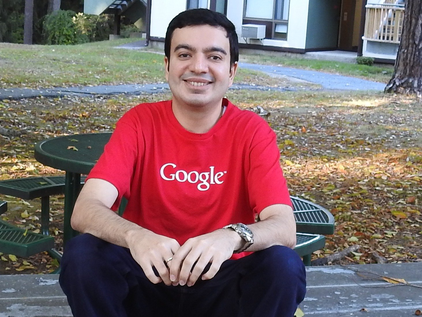 Sanmay Ved who bought Google.com donates Google reward to charity