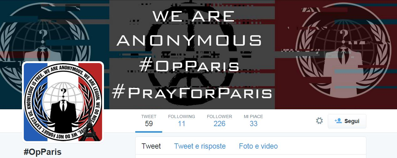 Anonymous Took Down 20,000 pro-ISIS Twitter accounts