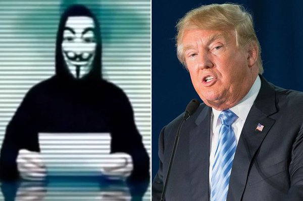 Anonymous promises war on Trump, and only line experts say how to hack his mobile