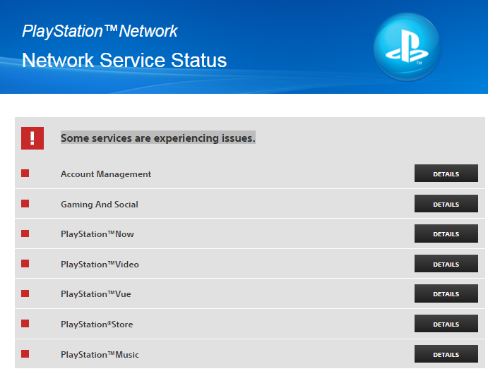 Sony PlayStation Network Down 2