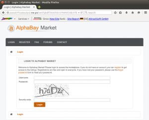 Did you buy on AlphaBay?Someone may have accessed your info