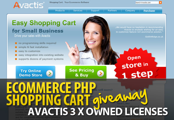 Experts discovered a number of flaws in the Avactis PHP Shopping Cart