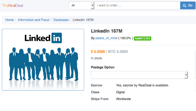 Czech police arrested a Russian hacker alleged involved in 2012 LinkedIn hack