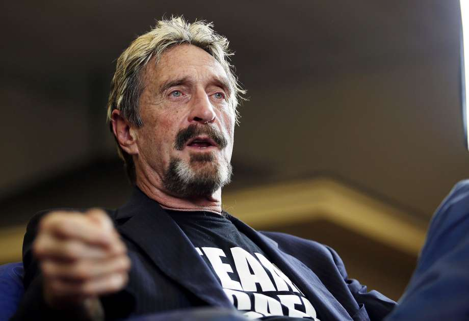 John McAfee found dead in prison cell ahead of extradition to US
