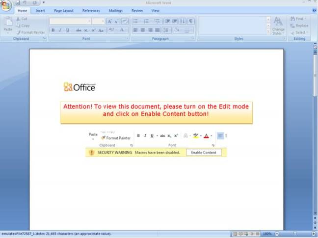 Microsoft Office 365 targeted with massive Cerber ransomware 0-day campaign