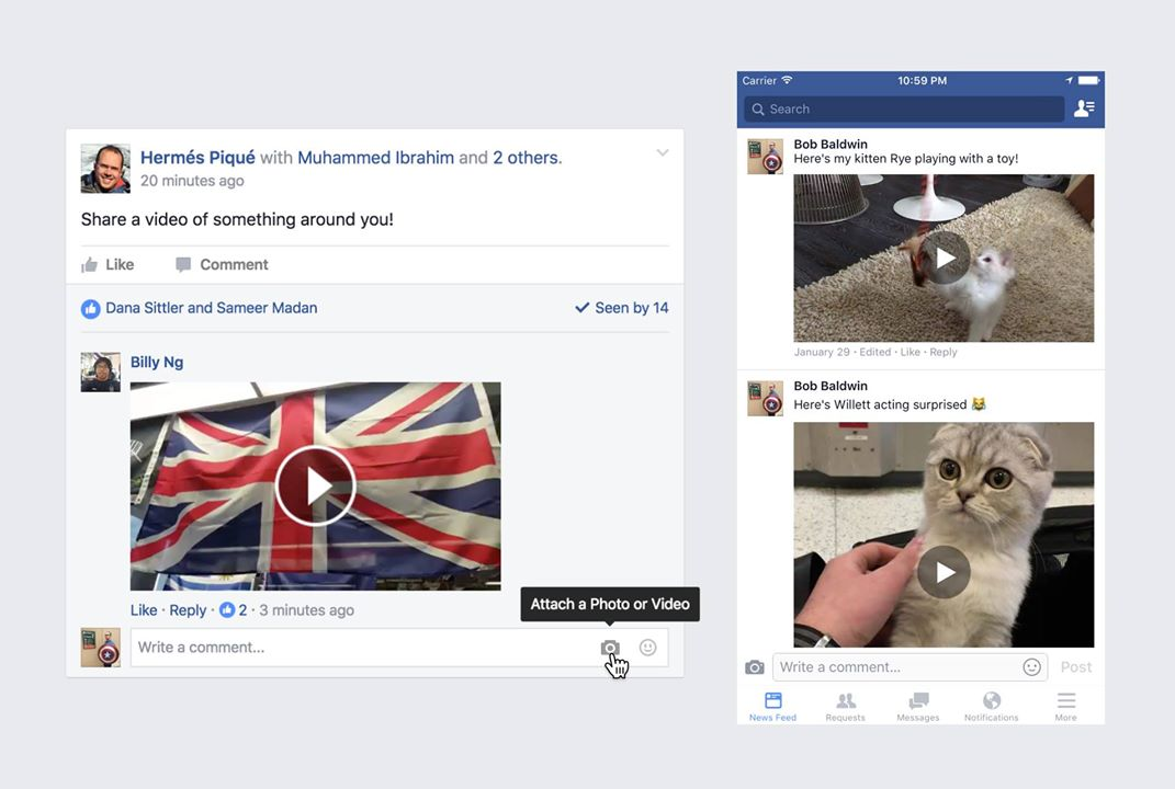Facebook logic flaw allowed an expert to delete any video