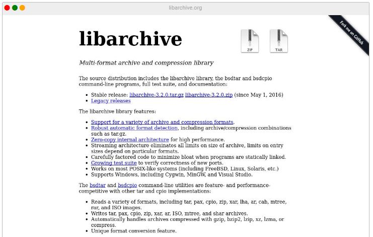 Flaws in Libarchive library affect hundreds of projects
