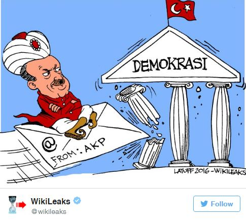 Erdogan Emails: WikiLeaks blocked in Turkey after the release of 300K government emails