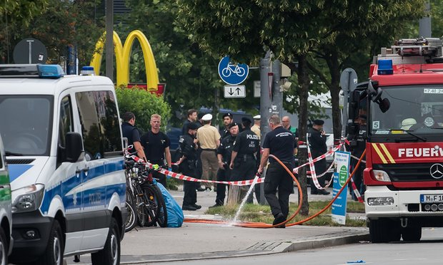 Munich Gunman purchased the weapon on the Dark Web