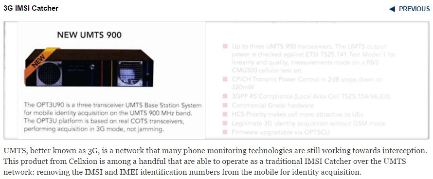 UK Police purchased IMSI-catcher technology for mobile surveillance
