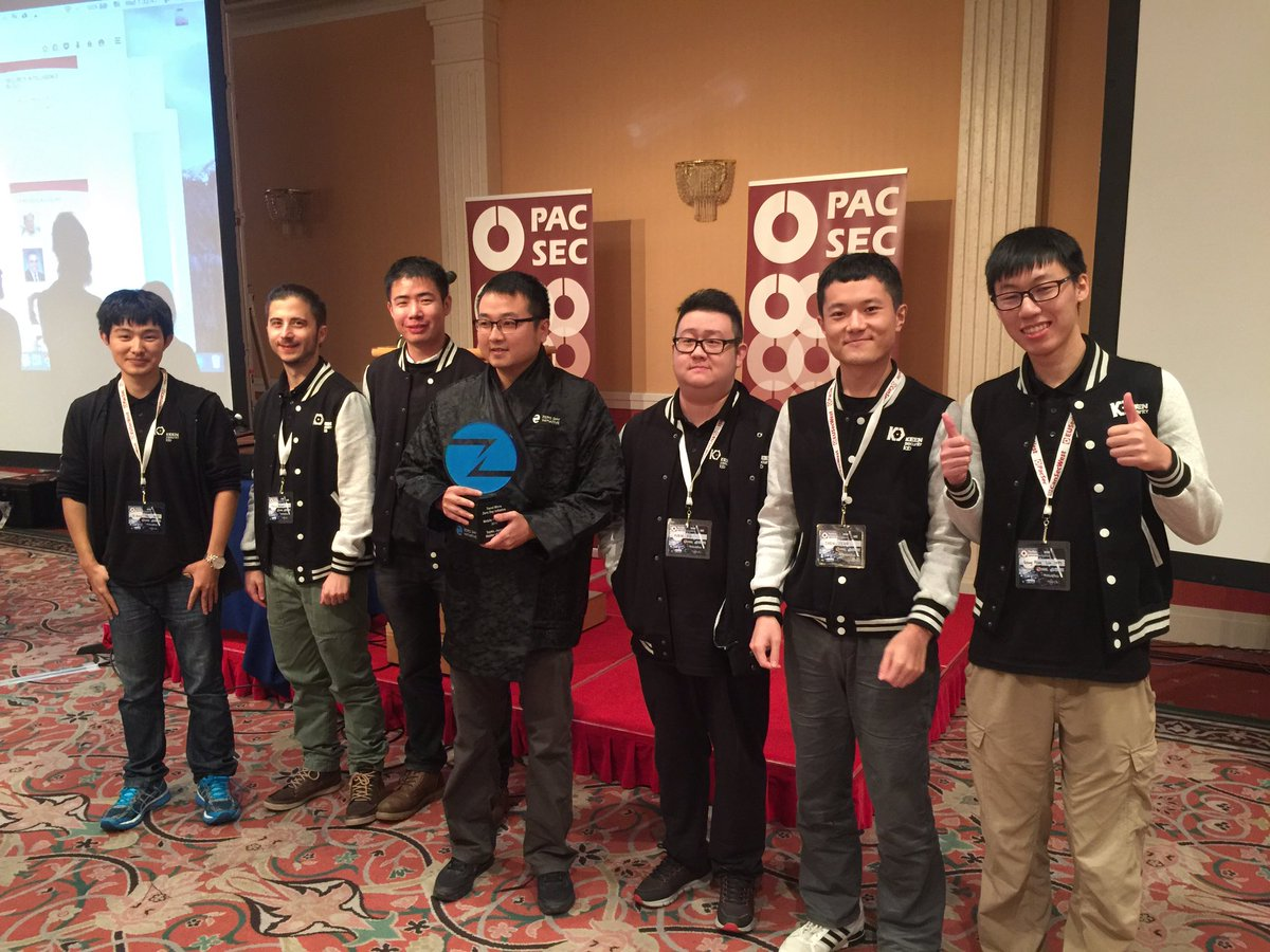 Pwn2Own 2016 – Keen Team won $215k by hacking Nexus 6p and iPhone 6S