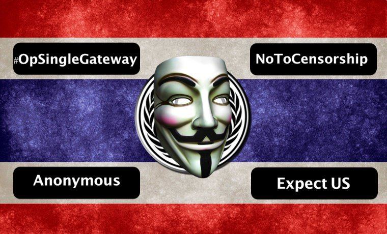 #OpSingleGateway – Gh0s7 hacked Thai Government website in response to the recent arrests