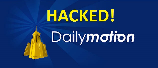 85 Million user accounts stolen from the Video-sharing website Dailymotion