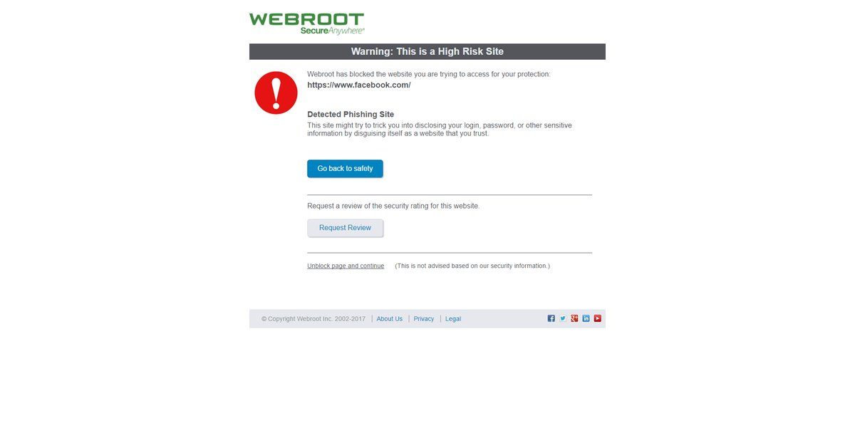Webroot started tagging Windows files, Facebook as malicious after a faulty update