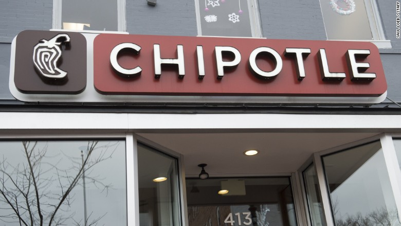 Chipotle Mexican Grill Fast-food chain notified customers a PoS malware breach